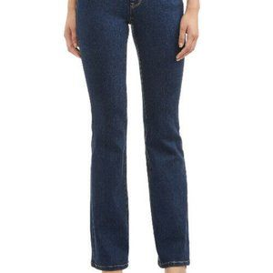 New Juniors Size 7 Blue Jeans Mid Rise Boot Cut